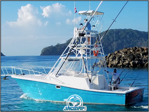 Grand Slam Sport Fishing Boat Charter in Costa Rica