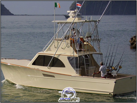 Macushla Custom Sportfish fishing in Los Suenos Costa Rica