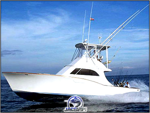42' Maverick Fishing charter on the Pacific ocean in Costa Rica
