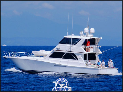 60 Foot Viking Sport Fish in Costa Rica
