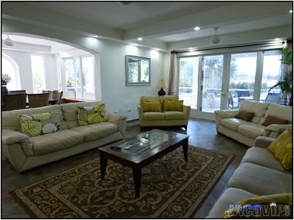 Large and comfortable living room area