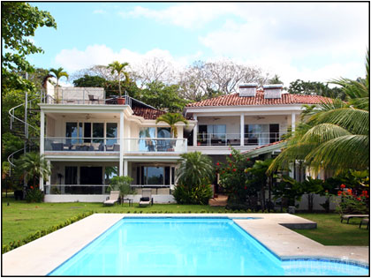 Casa Blanca Jaco Beach Front Estate