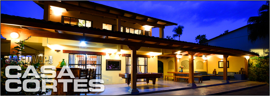 Jaco vip casa cortes beach house vacation rental jaco for Beach house rentals costa rica