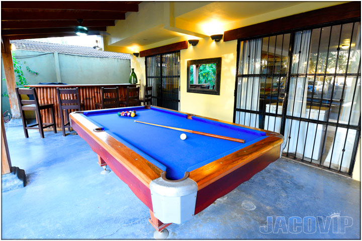 Pool Table at Casa Cortes