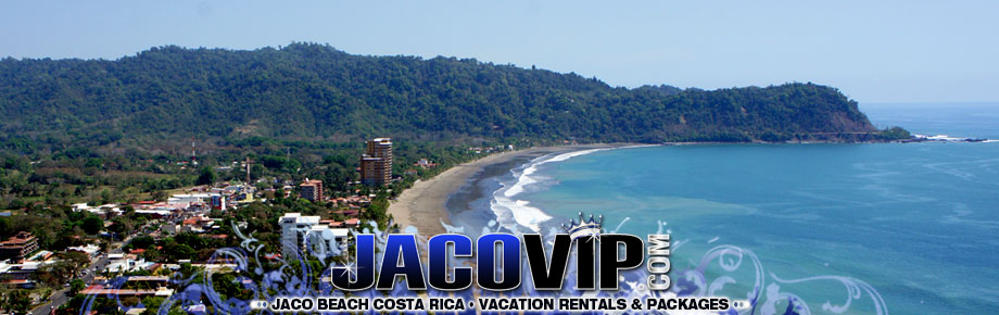 Sky View of Jaco Beach, Costa Rica