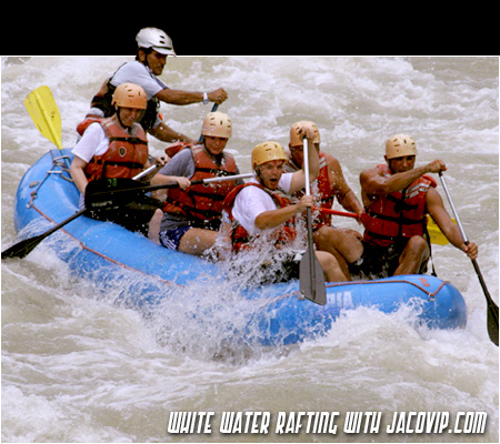 White Water Rafting near Jaco and Quepos