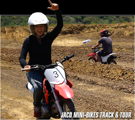 Jaco Mini Dirt Bikes Track & Tour