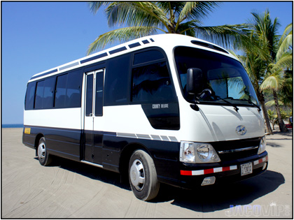 Bus and Private Driver are available with additional cost.