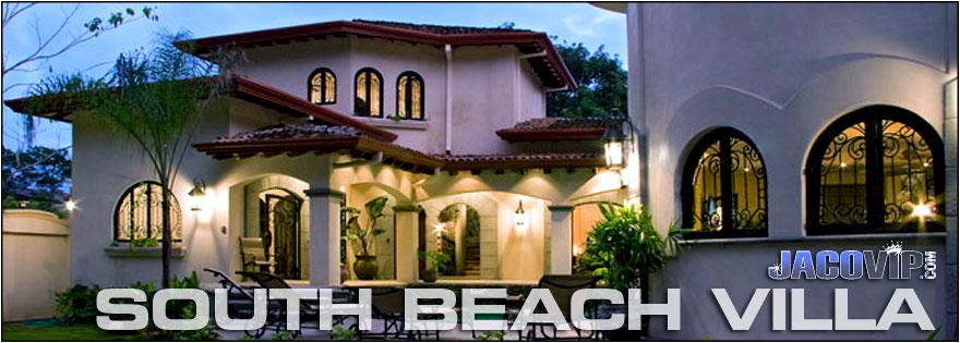Jaco vip south beach villa antigua vacation rental for Rent a villa in costa rica