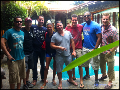 Bachelor Party Group in Jaco