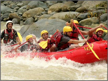 White Water Rafting in Costa Rica near Jaco Beach